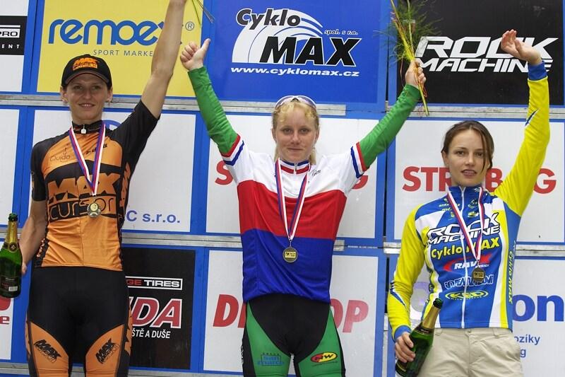 Mistrovství ČR XC - Velké Losiny 12.-13.7. 2008 - ženy