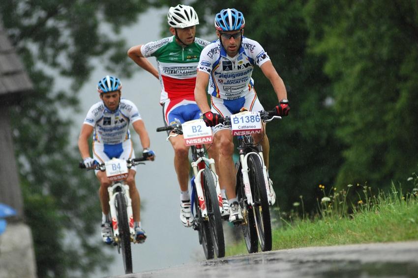 Salzkammergut Trophy '08: italská grupa Cattaneo, de Bertolis, Simoni