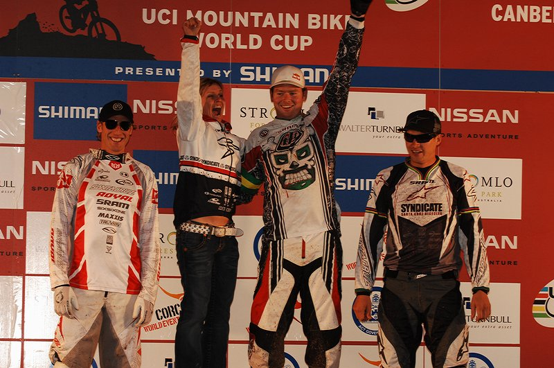 Nissan UCI MTB World Cup - Canberra 30.-31.8. 2008, foto: A. K�stenbr�ck