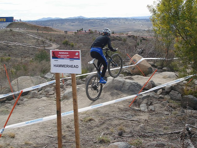 Nissan UCI MTB World Cup 2008 - Canberra/AUS - XC okruh
