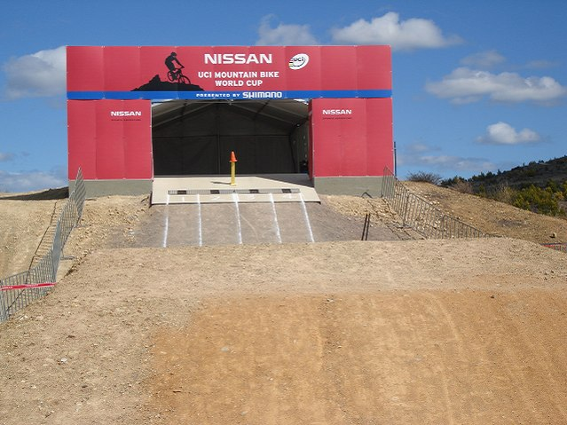 Nissan UCI MTB World Cup 2008 - Canberra/AUS - start 4X