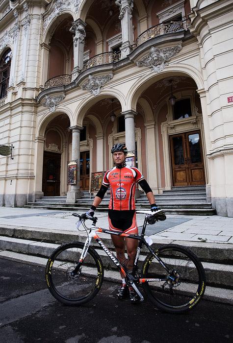 Kolo pro �ivot - Karlovarsk� AM bikemaraton �S - Ivan Ryba��k