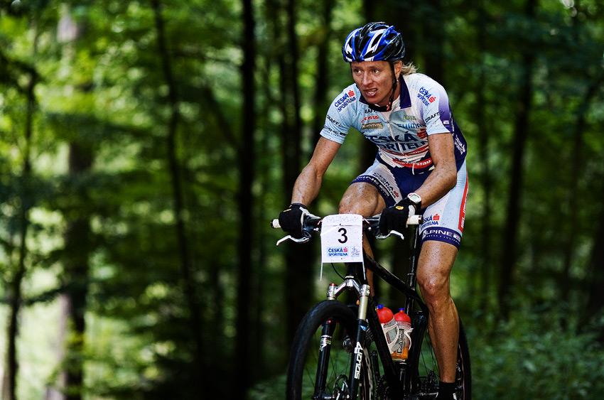 Kolo pro život - Karlovarský AM bikemaraton ČS - Pavel Zerzán