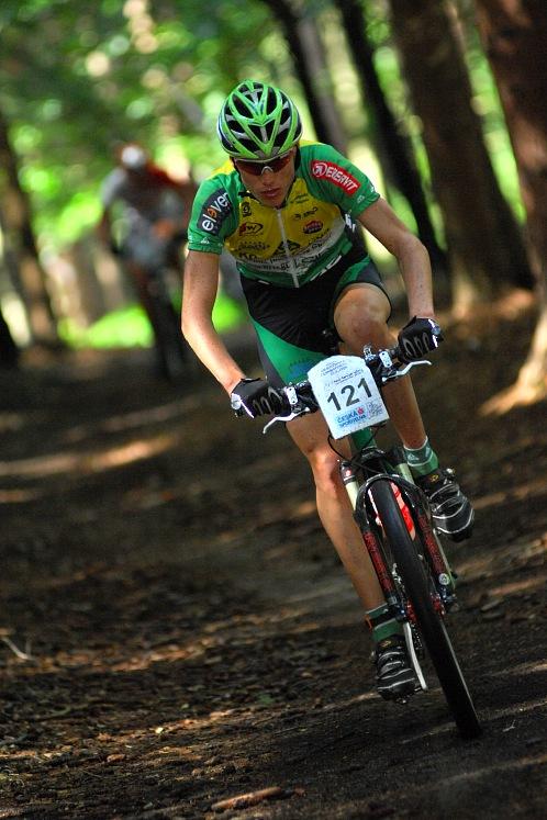 KPŽ Karlovarský AM bikemaraton ČS 2008: nejlepší junior Jan Stohr