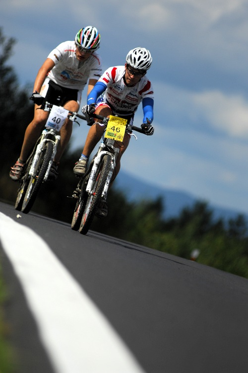 KPŽ Karlovarský AM bikemaraton ČS 2008: