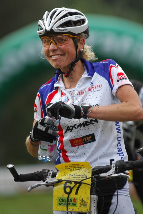 KPŽ Karlovarský AM bikemaraton ČS 2008: Pavlína Černá druhá