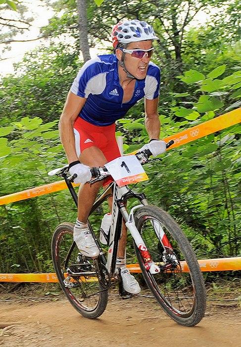 Olympijsk� hry 2008 - Peking - Julien Absalon, foto: Rob Jones