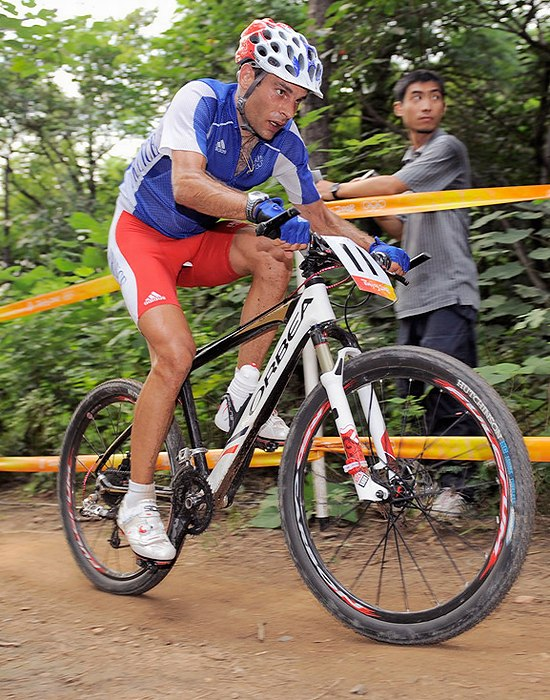 Olympijské hry 2008 - Peking - Jean Christoph Peraud, foto: Rob Jones