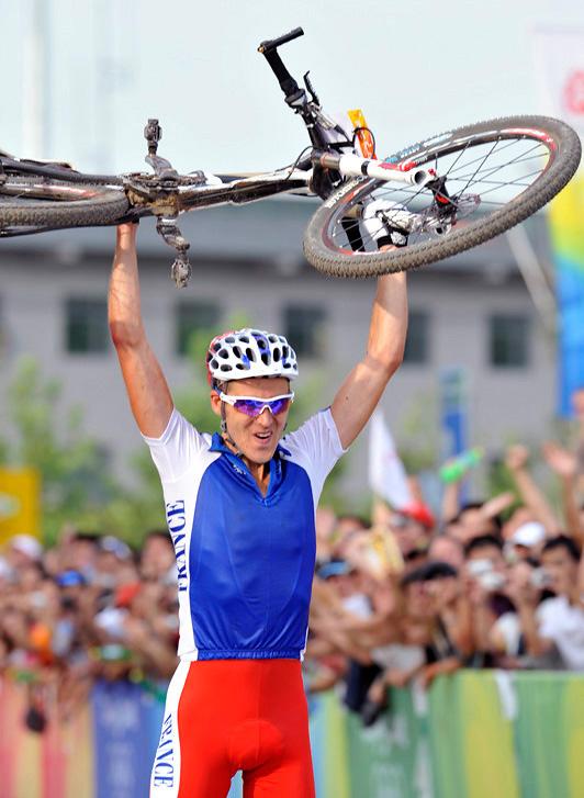 Olympijské hry 2008 - Peking - Julien Absalon,  foto: Rob Jones