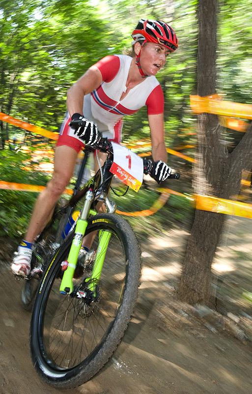 Olympijské hry 2008 - Peking - Gunn Rita Dahle neměla svůj den, foto: Casey B. Gibson