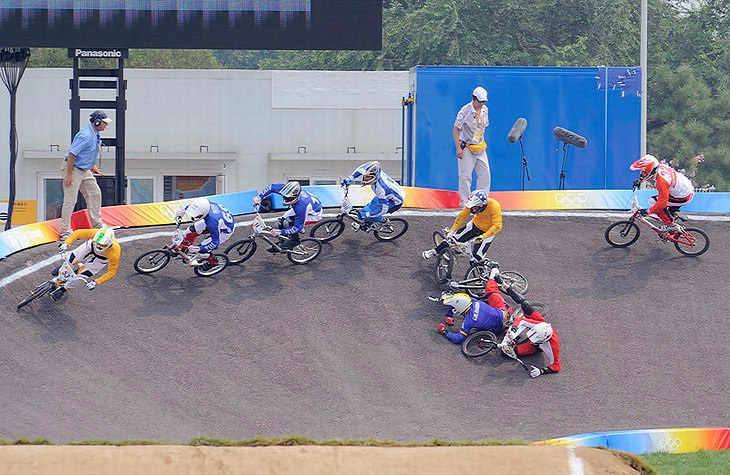 BMX - Olympijsk� hry - Peking 2008  , foto: Rob Jones/Canadiancyclist.com