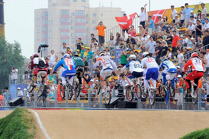 BMX - Olympijské hry - Peking 2008  , foto: Rob Jones/Canadiancyclist.com