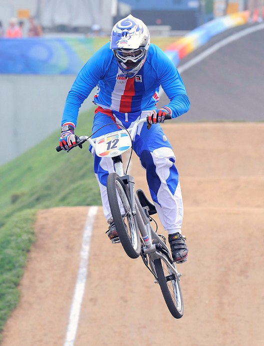 BMX - Olympijské hry - Peking 2008 - Michal Prokop, foto: Rob Jones/Canadiancyclist.com