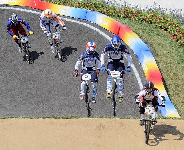 BMX - Olympijské hry - Peking 2008 - finále mužů, foto: Rob Jones/Canadiancyclist.com