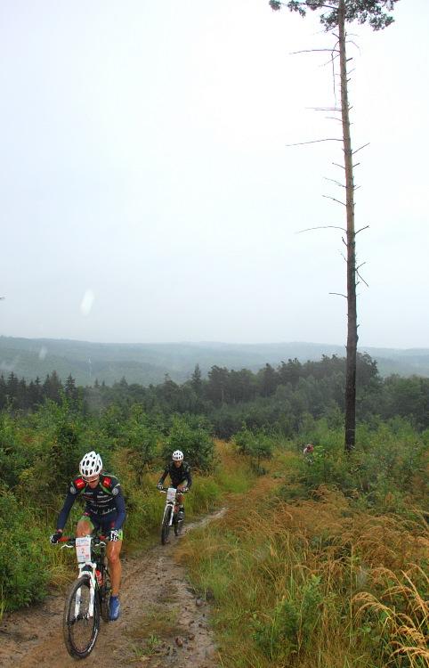 ČP XCM #5 2008 - Giant eXtreme Bike Brdy: Milan Spěšný a Jan Jobánek z Merida Biking teamu