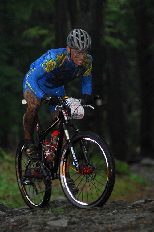 ČP XCM #5 2008 - Giant eXtreme Bike Brdy: Jan Hruška v technických pasážích