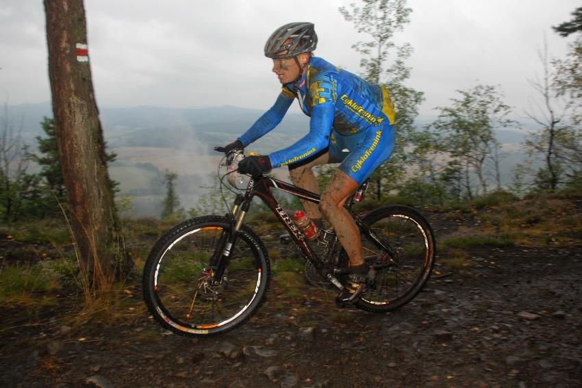 ČP XCM #5 2008 - Giant eXtreme Bike Brdy: Jan Hruška na Plešivci