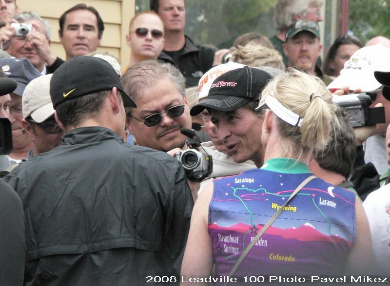 Leadville Trail 100 - obrovský zájem o Lance Armstronga, foto: Pavel Mikez