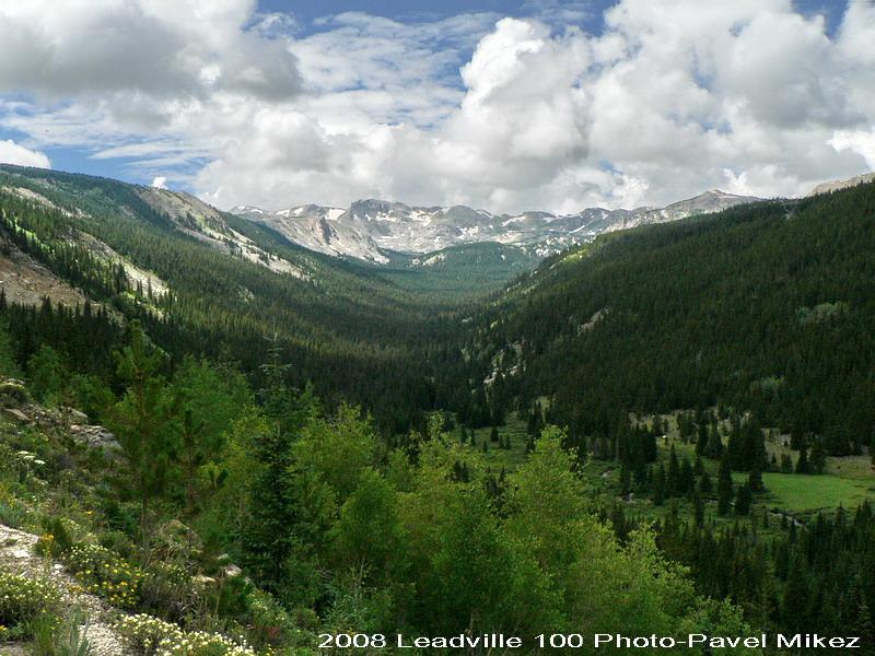 Leadville Trail 100 - nádherné okolí koloradského Leadvillu, foto: Pavel Mikez