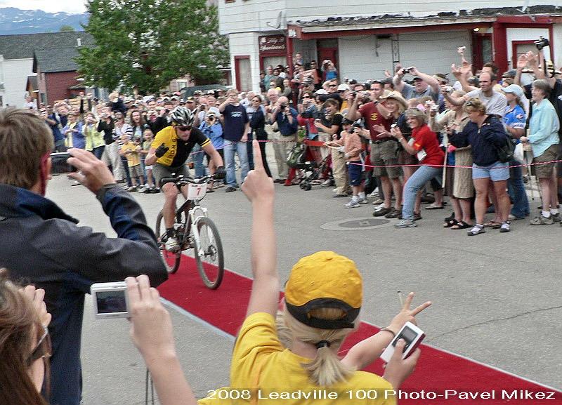 Leadville Trail 100 - Lance druhý v cíli, foto: Pavel Mikez