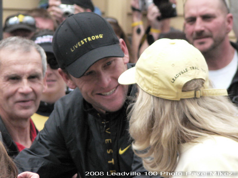 Leadville Trail 100 - Lance Armstrong