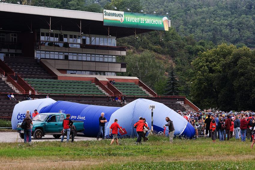 Kolo pro �ivot Praha - Karl�tejn Tour 9.8.2008, foto: Milo� Lubas