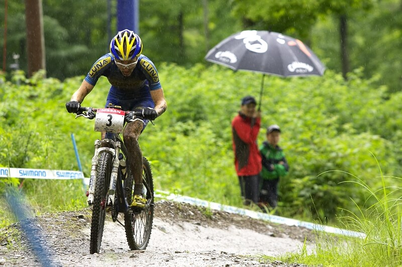 Nissan UCI MTB World Cup XC#7 - Bromont /KAN/ 3.8. 2008 - Catherine Pendrel