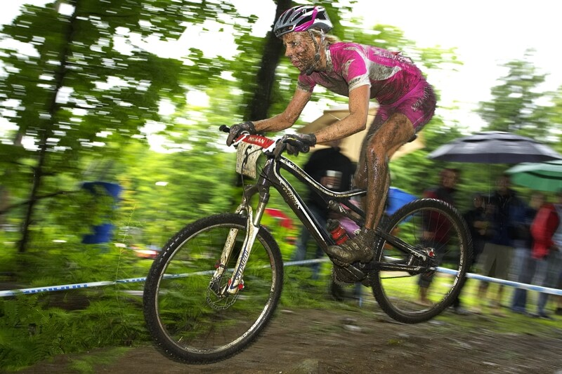 Nissan UCI MTB World Cup XC#7 - Bromont /KAN/ 3.8. 2008 - Lene Byberg