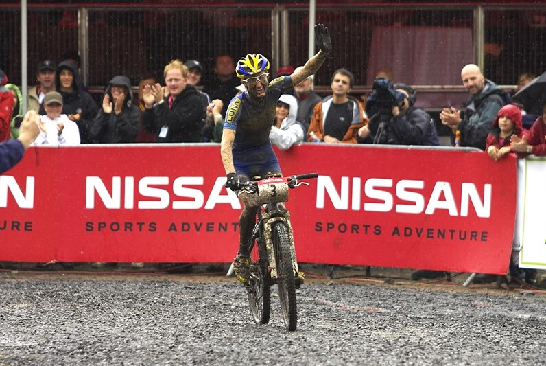 Nissan UCI MTB World Cup XC#7 - Bromont /KAN/ 3.8. 2008 - domácí fanoušci byli spokojeni