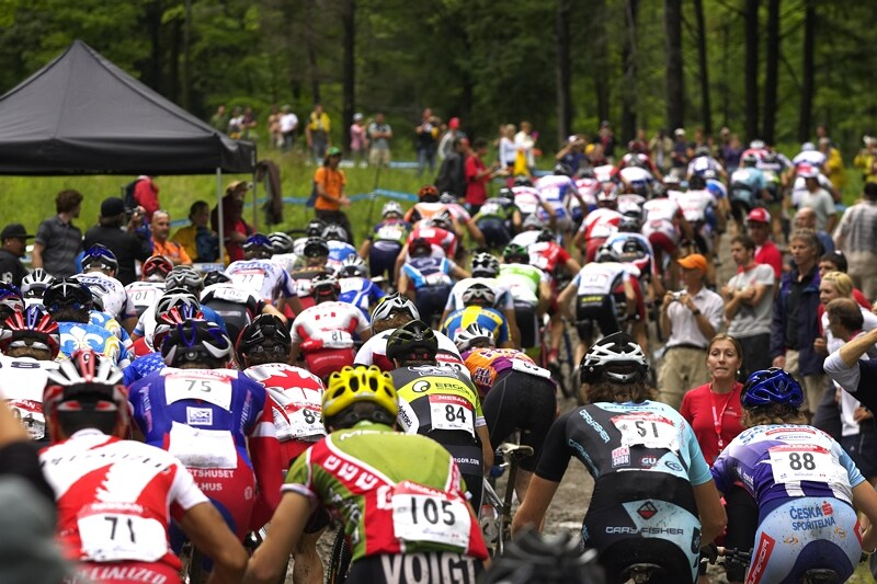 Nissan UCI MTB World Cup XC#7 - Bromont /KAN/ 3.8. 2008