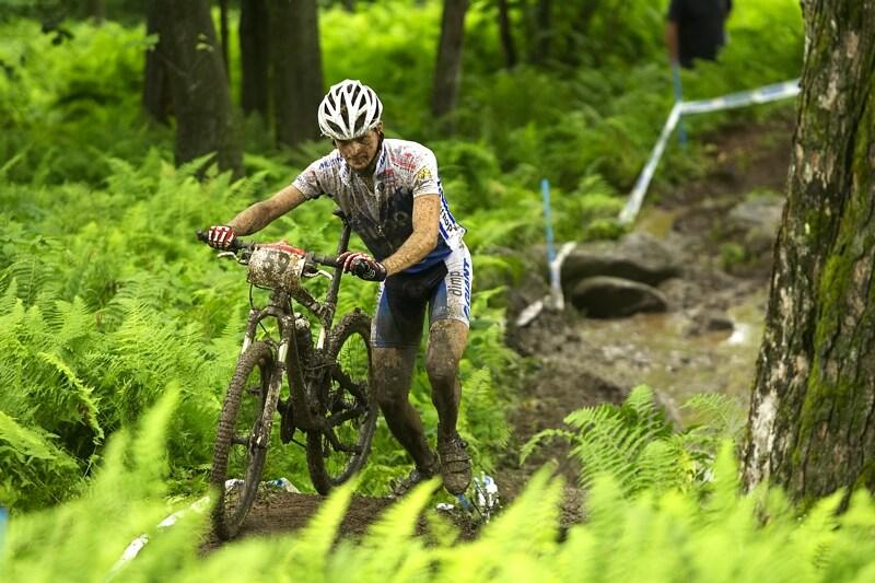 Nissan UCI MTB World Cup XC#7 - Bromont /KAN/ 3.8. 2008 - Jan Škarnitzl