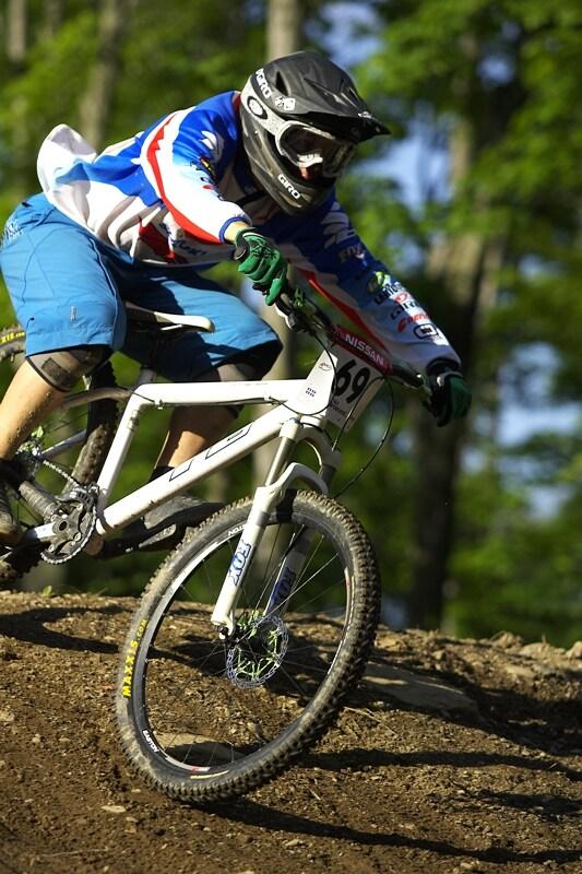 Nissan UCI MTB World Cup 4X #5 - Bromont /KAN/, 2.8. 2008 - Kamil Tatarkovič