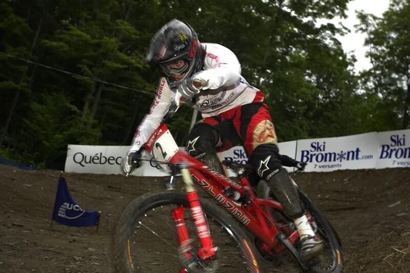 Nissan UCI MTB World Cup 4X #5 - Bromont /KAN/, 2.8. 2008 - Anneke Beerten