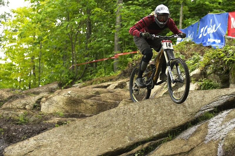 Nissan UCI MTB World Cup DH #5 - Bromont, 2.8. 2008 - Claire Buchar