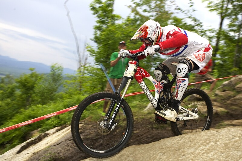 Nissan UCI MTB World Cup DH #5 - Bromont, 2.8. 2008 - Steve Peat