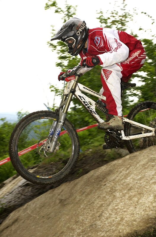 Nissan UCI MTB World Cup DH #5 - Bromont, 2.8. 2008 - Matěj Charvát