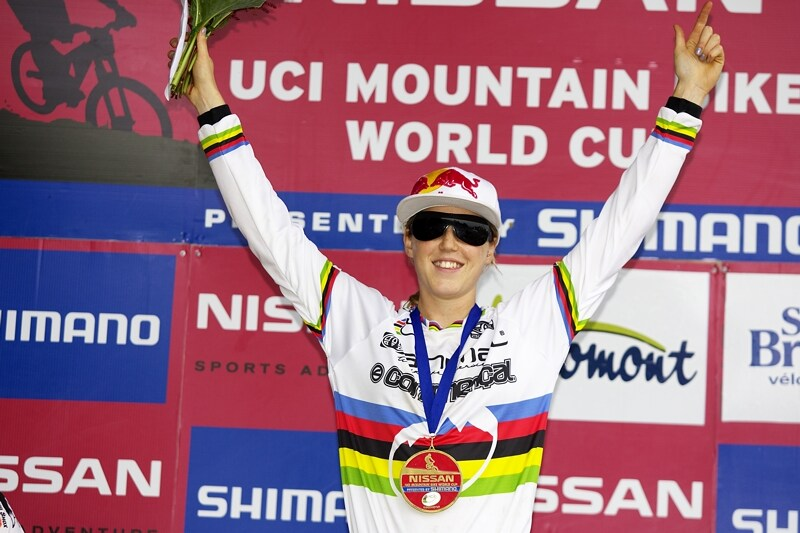 Nissan UCI MTB World Cup DH #5 - Bromont, 2.8. 2008 - Rachel Atherton