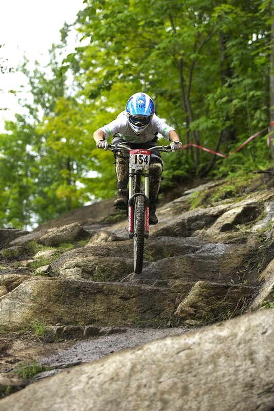 Nissan UCI MTB World Cup DH #5 - Bromont, 2.8. 2008 - �utrov� sekce