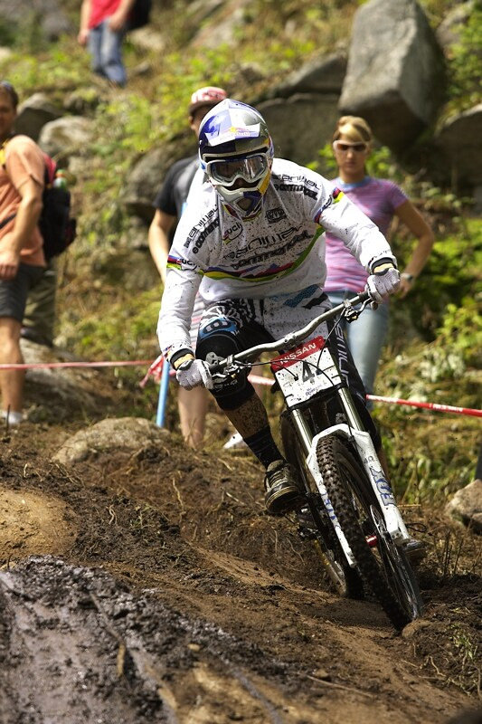 Nissan UCI MTB World Cup DH #5 - Bromont, 2.8. 2008 - Gee Atherton