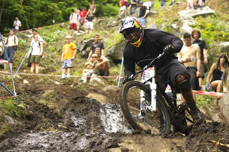 Nissan UCI MTB World Cup DH #5 - Bromont, 2.8. 2008 - Kyle Strait