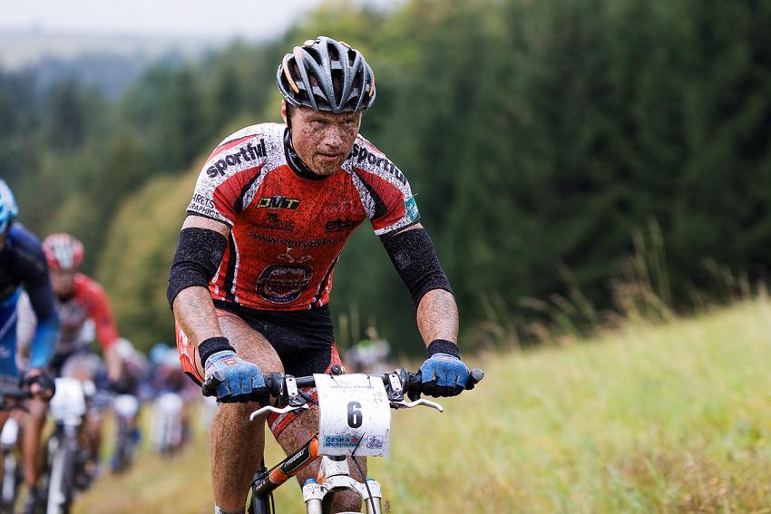 Kolo pro život - Oderská mlýnice - mistrovství ČR 1/2 XCM 20.9. 2008 - Ivan Rybařík