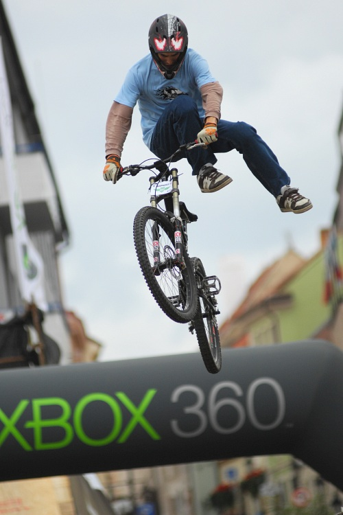 XBox 360 Slopestyle Písek '08 - Pavel Hospodka