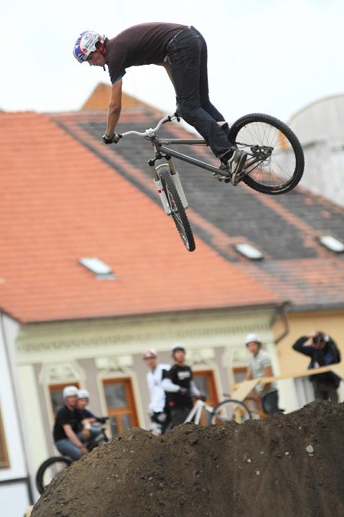 XBox 360 Slopestyle Písek '08 - Tomáš Zejda