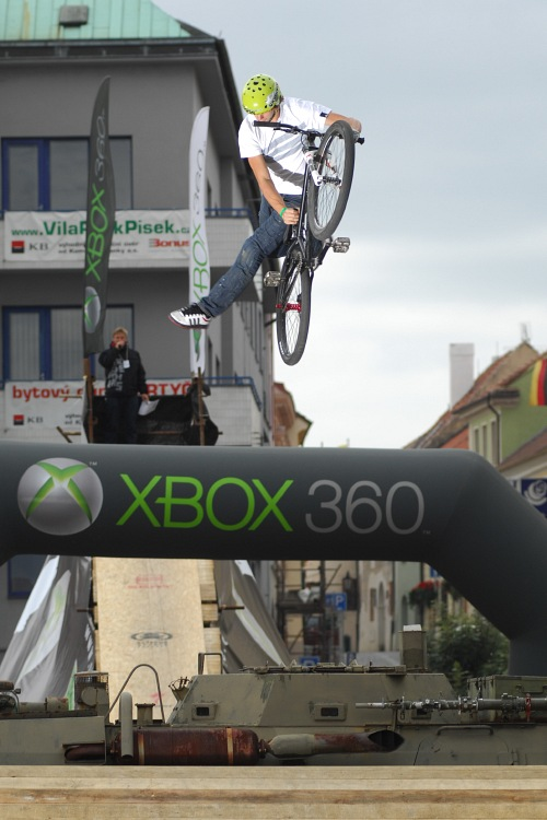 XBox 360 Slopestyle Písek '08 - Bartek Oboukowicz