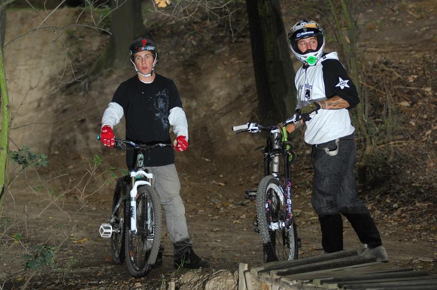 Tyler McCaul a Ričrd Gasperotti