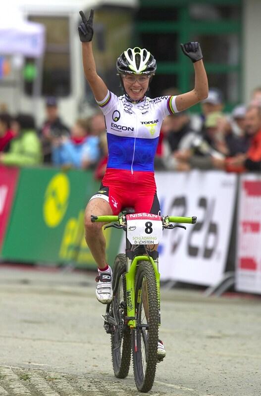 Nissan UCI MTB World Cup XC #9 - Schladming 14.9. 2008 - Irina Kalentieva