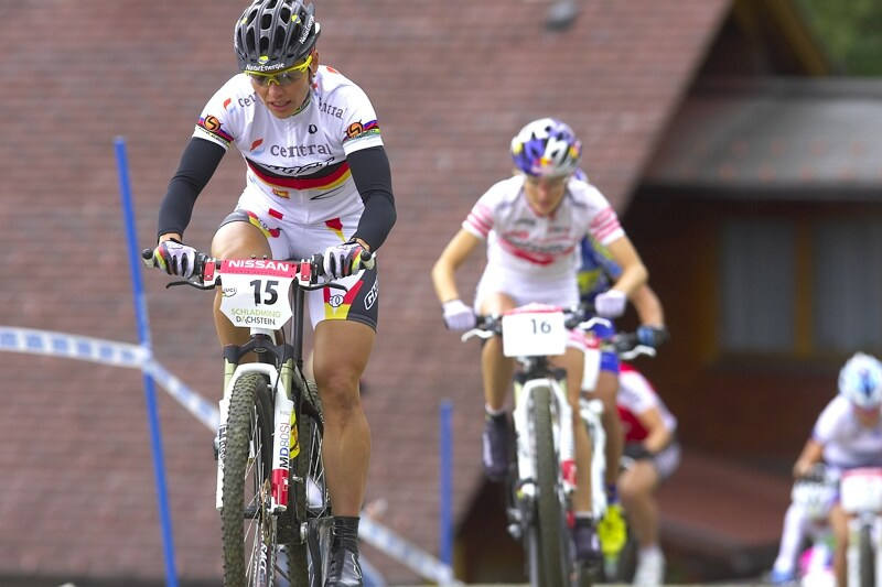 Nissan UCI MTB World Cup XC #9 - Schladming 14.9. 2008 - Sabine Spitz