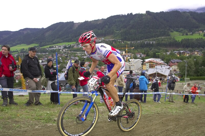 Nissan UCI MTB World Cup XC #9 - Schladming 14.9. 2008 - Jaroslav Kulhavý