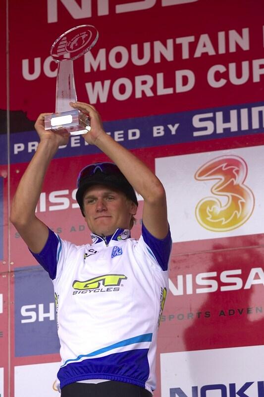 Nissan UCI MTB World Cup XC #9 - Schladming 14.9. 2008 - Burry Stander, nejlepší U23 sezóny