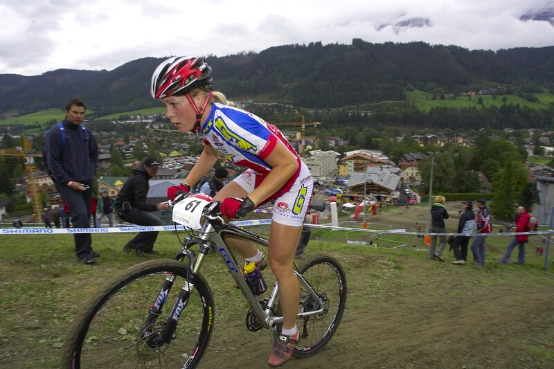 Nissan UCI MTB World Cup XC #9 - Schladming 14.9. 2008 - Lucie Veselá
